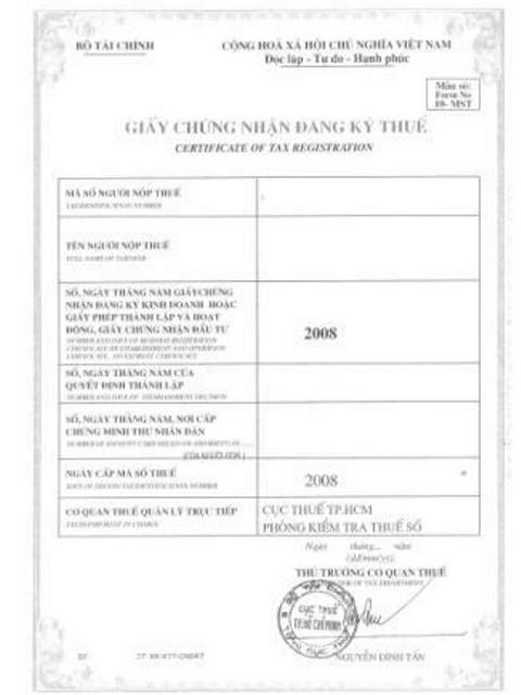 How Much Is Tax >> Hochiminh eRegulations 2014