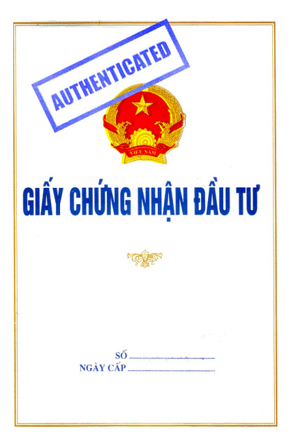 Hochiminh eregulations 2014 authenticated copy of investment certificate yelopaper Choice Image