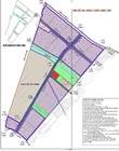 Planning map of urban drain water and solid waste processing system